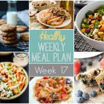Healthy Weekly Meal Plan for Thanksgiving week includes a delicious brined turkey breast that is crazt juicy and a light and an easy stuffing recipe loaded with sweet cranberries and crunch pecans for the perfect side dish for your holiday table!
