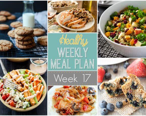 Healthy Meal Plan Week #17