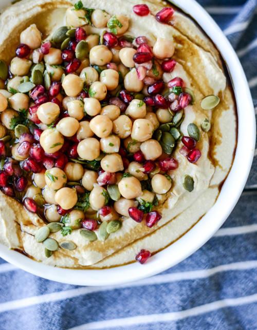 Roasted Butternut Squash Hummus   How Sweet Eats