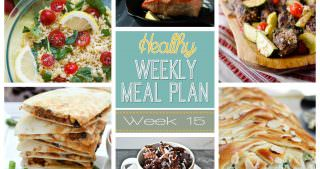 Healthy Meal Plan Week #15