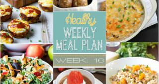 Healthy Meal Plan Week #16