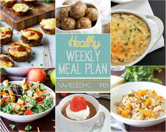 Healthy Meal Plan Week #16