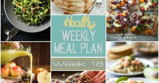 Healthy Meal Plan Week #18