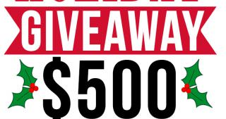 {Closed} $500 Holiday Cash Giveaway!