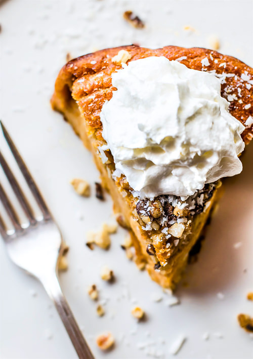 Impossibly Easy Paleo Sweet Potato Pie | Cotter's Crunch