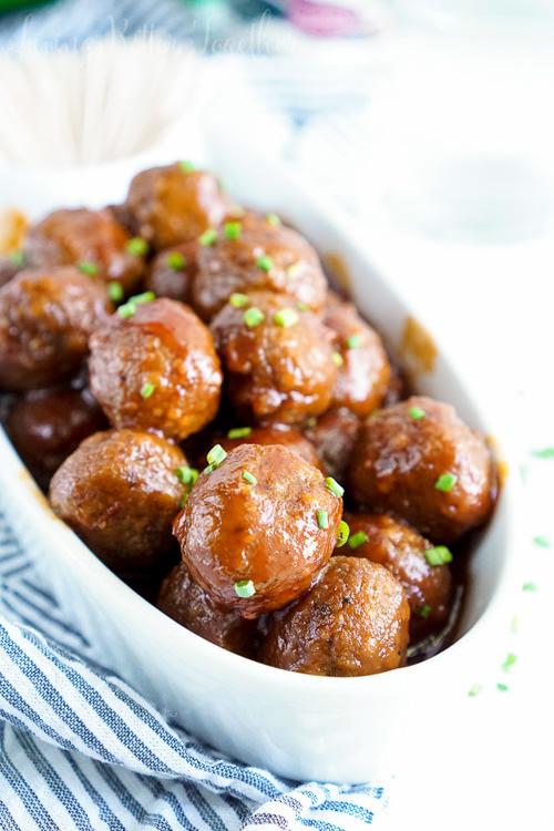 Maple Chili Meatballs | Sugar and Soul