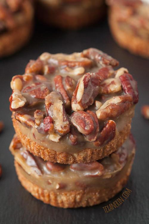Caramel Pecan Tarts | Texan Erin