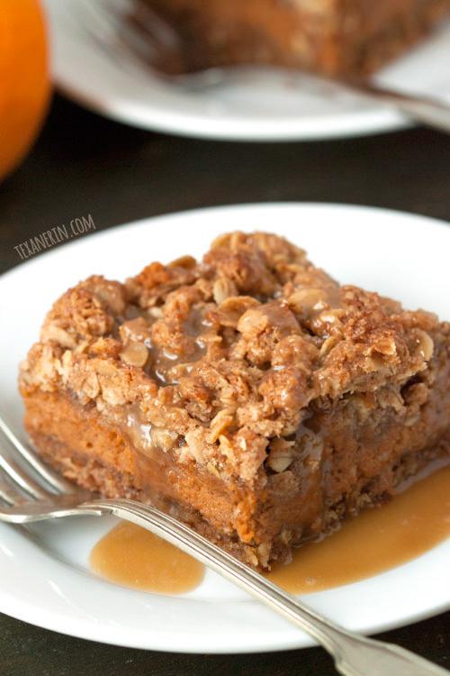 Pumpkin Pie Streusel Bars | Texan Erin
