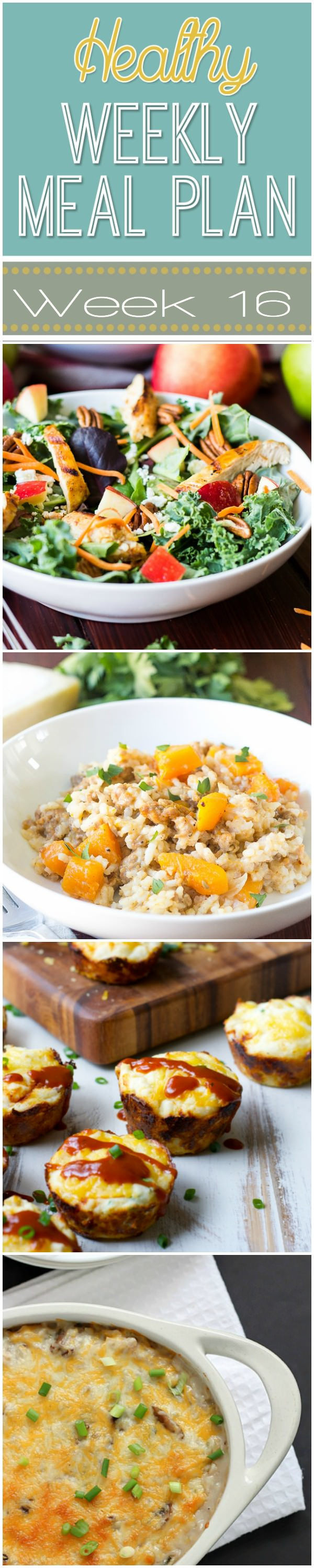 Healthy Meal Plan Week is filled with wholesome dinners, such as Crock Pot Black Bean Soup, pumpkin snacks, and a fall inspired breakfast to enjoy!