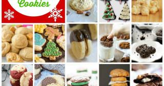100+ Christmas Cookie Recipes Blog Hop!