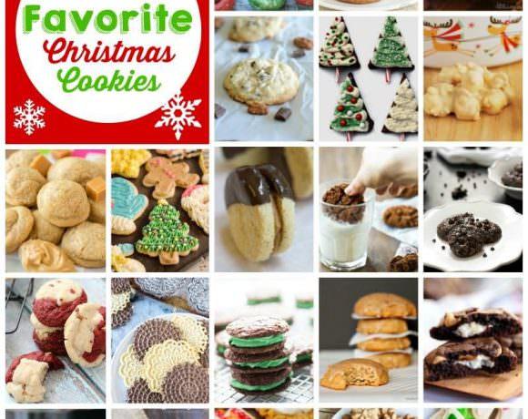 100+ Christmas Cookie Recipes Blog Hop!