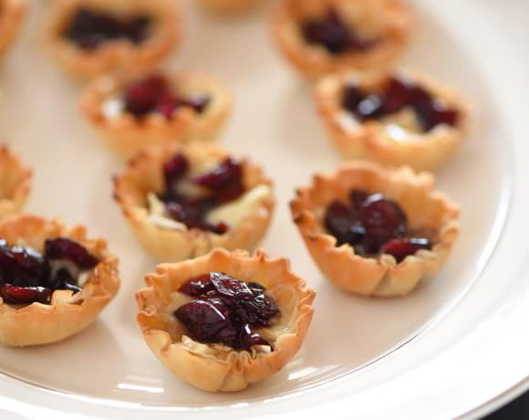 Cranberry Brown Sugar Brie Bites