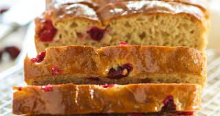 Cranberry Orange Whole Wheat English Muffin Bread