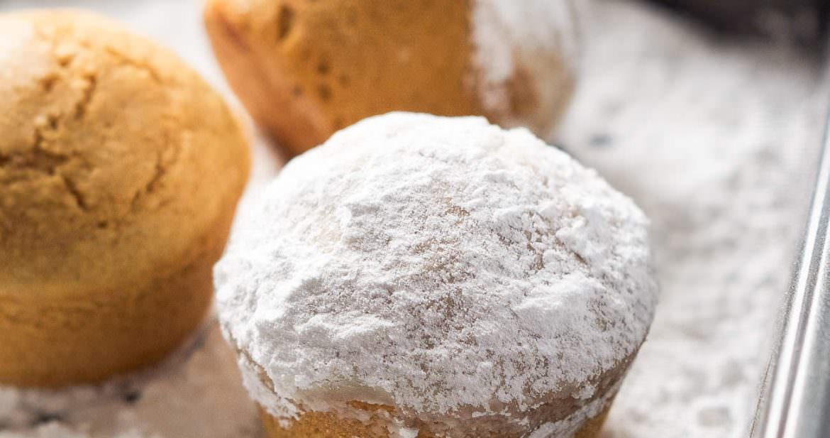 ... eggnog donut muffins these eggnog donut muffins are light and fluffy