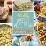 Healthy Weekly Meal Plan #19