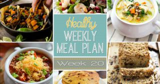 Healthy Meal Plan Week #20