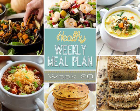 Healthy Meal Plan Week #20