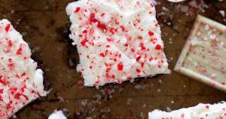 Peppermint White Mocha Brownies