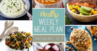 Healthy Menu Plan Week #21