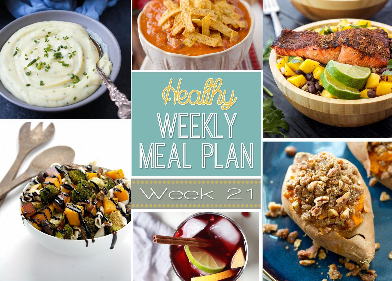 healthy menu plan week 21 with salt and wit
