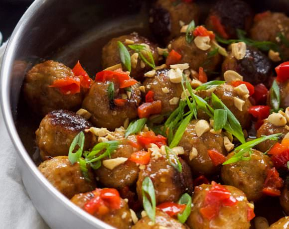 Sweet Chili Glazed Meatballs