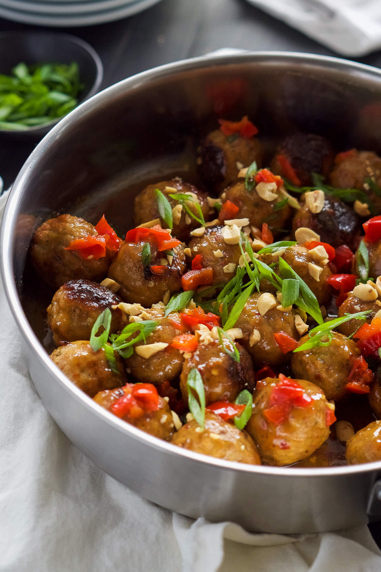 Meatballs are juicy meatballs drenched in a homemade sweet chili sauce ...