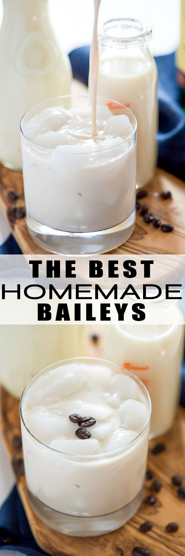 The Best Homemade Baileys Irish Cream - With Salt and Wit