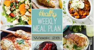 Healthy Meal Plan Week #28