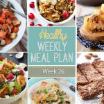 This weeks menu is filled with delicious meals like the Mexican Pizza and finishing up with personal Cranberry Crisps that I can't wait to devour!