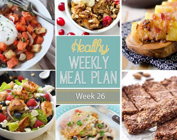 Healthy Meal Plan Week #26