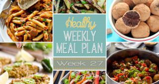 Healthy Meal Plan Week #27