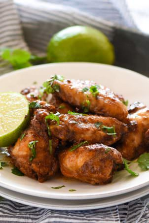 Honey Chipolte Lime Wings_-4