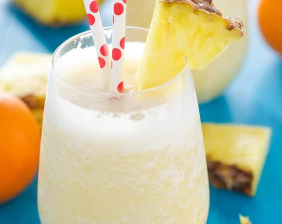 Pineapple Orange Creamsicle Smoothie