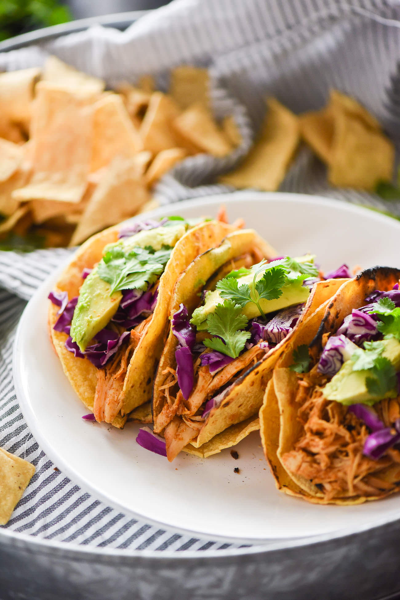Honey Chipotle Chicken Tacos