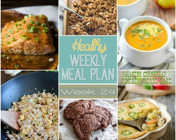 Healthy Menu Plan Week #24
