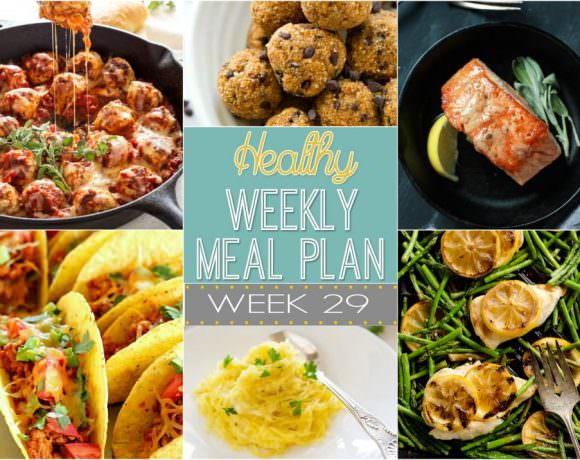 Healthy Meal Plan Week #29