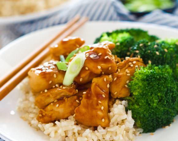 Honey Teriyaki Chicken Rice Bowls