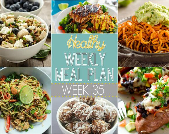 Healthy Meal Plan Week #35