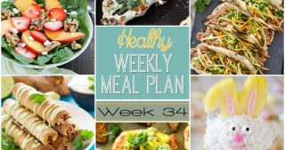 Healthy Meal Plan Week #34