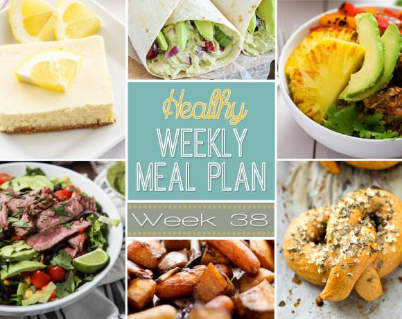 Healthy Meal Plan Week #38