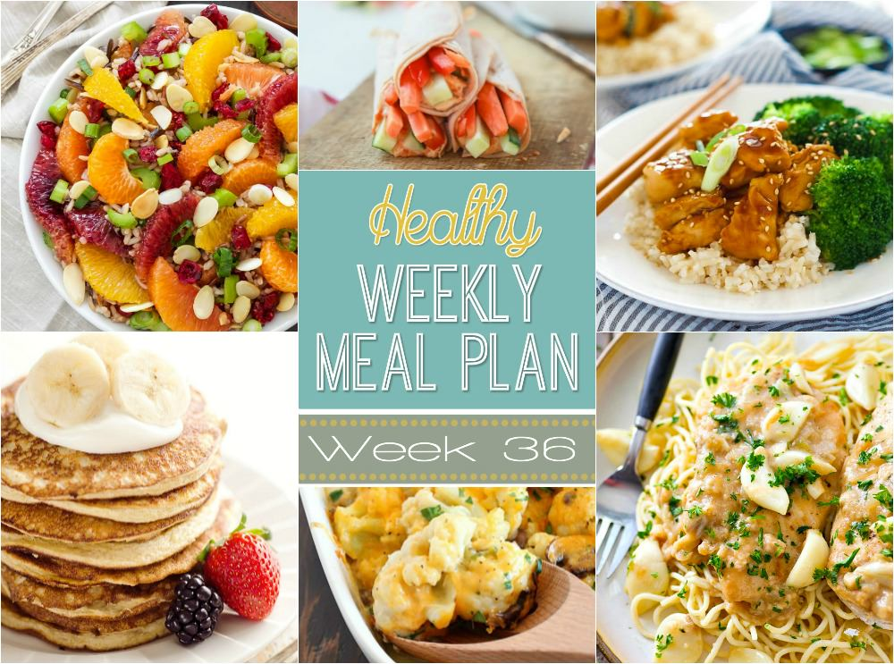 Healthy Meal Plan Week   With Salt And Wit
