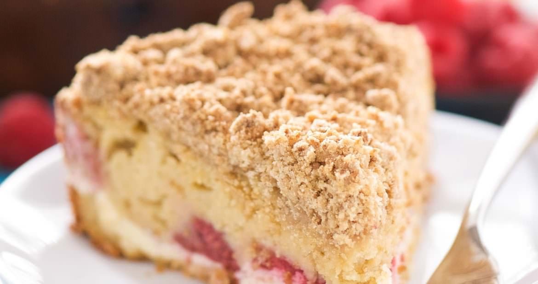 Berry Cream Cheese Coffee Cake