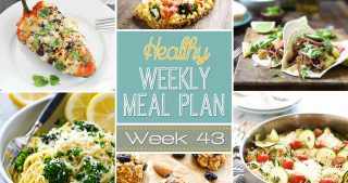 Healthy Meal Plan Week #43