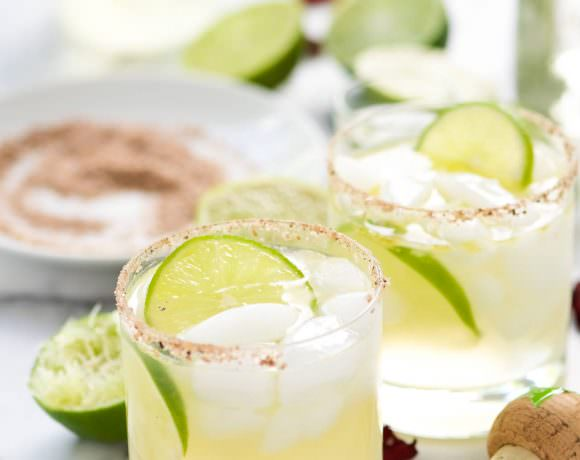 The Best Spicy Margarita