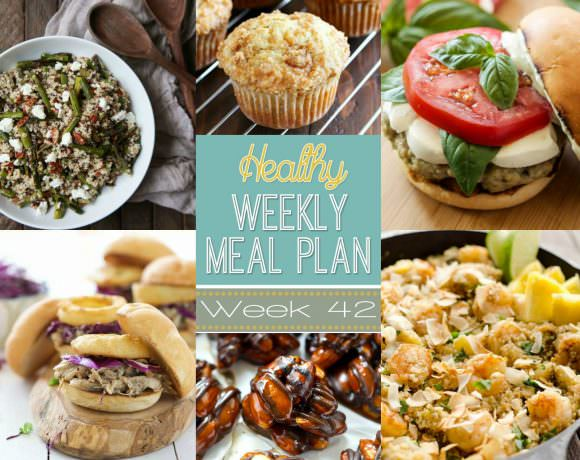 Healthy Meal Plan Week #42
