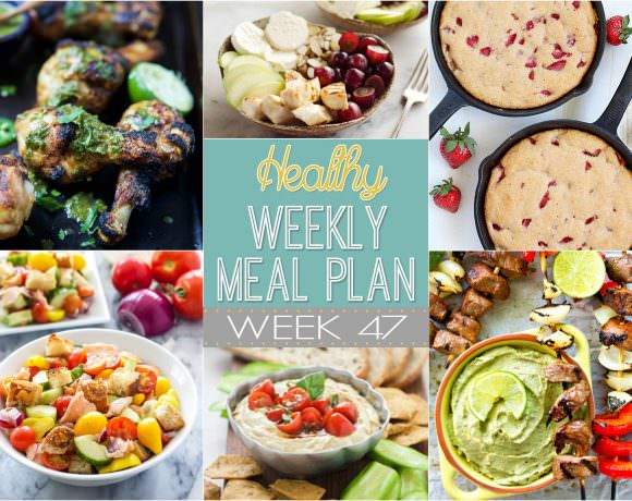 Healthy Meal Plan Week #47