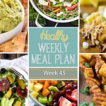 This week we are lighting up that grill for some Hawaiian inspired chicken kabobs, Huli Huli Chicken Kabobs! And you can snack all week long on avocado hummus with pita chips and super healthy avocado chocolate muffins.