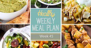 Healthy Meal Plan Week #45