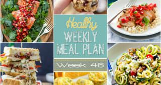 Healthy Meal Plan Week #46