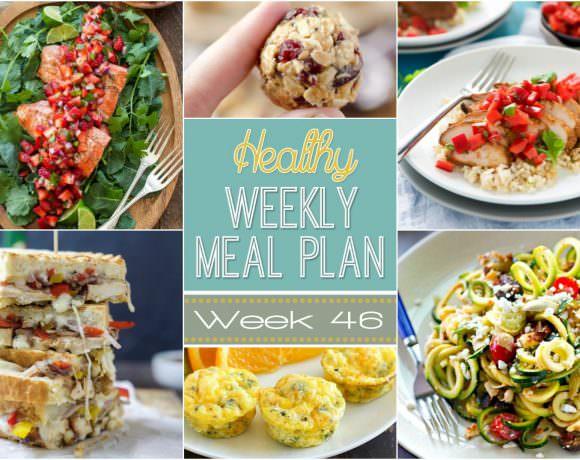 Healthy Meal Plan Week #46